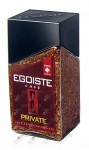 Egoiste Private, кофе растворимый сублимированный (100 г.), ст.банка