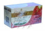 Twinings Four Red Fruits , 25 пак - 2 гр